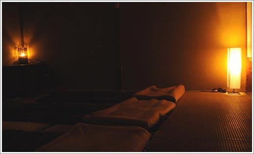 仮眠を取ったり、ちょっとした休息が可能なリラクゼーションルーム